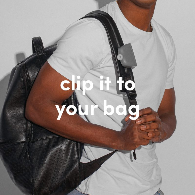 Clip it to your bag